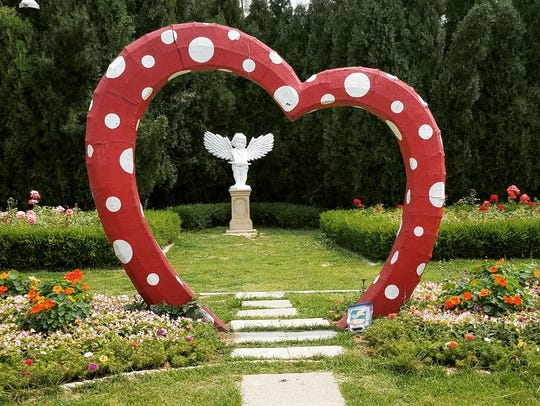 Tracey Blackmore often posts photos of hearts that she finds in nature, Brian Evers said. To her, the hearts are a sign that Brooks is still with her in spirit. While in Incheon, South Korea, last week, he saw a heart sculpture with an angel and knew he had to leave a Hot Wheels car there (bottom right).