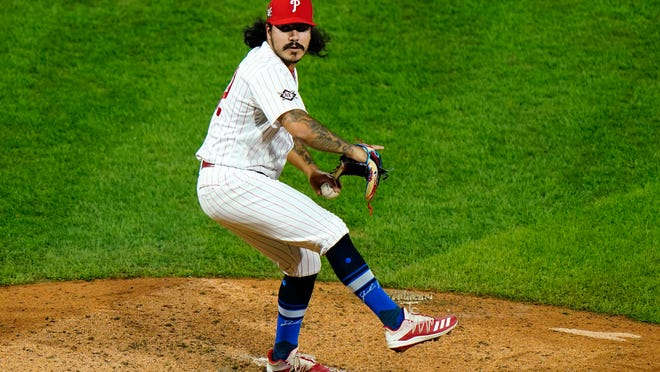 Oxnard High graduate JoJo Romero struck out the side in his first major league appearance for the Philadelphia Phillies.