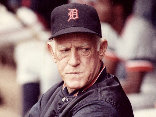 Former Tigers manager Sparky Anderson.