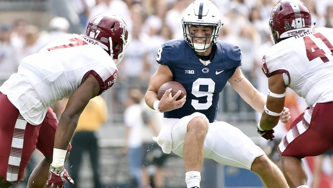 First duty for Penn State at Michigan: Eliminate turnovers, especially Trace McSorley fumbles.