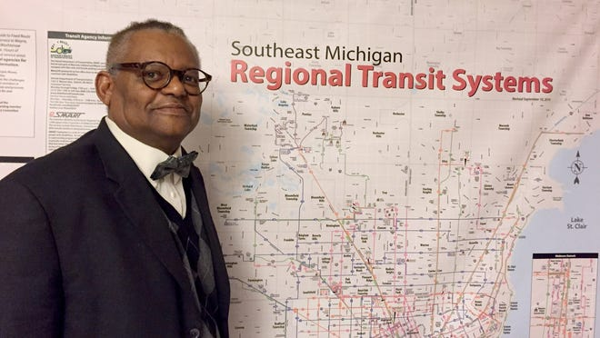 Cornelius Henry, a transportation specialist with the People Mover, is heading a study that could lead to the creation of a universal fare card to serve transit users in Wayne, Oakland, Macomb and Washtenaw counties.