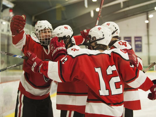 CVU vs. South Burlington Boys Hockey 02/03/16