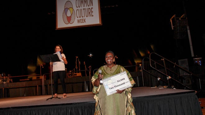 Brenda Wimberly received a cash prize and will perform in solo concert in the fall.