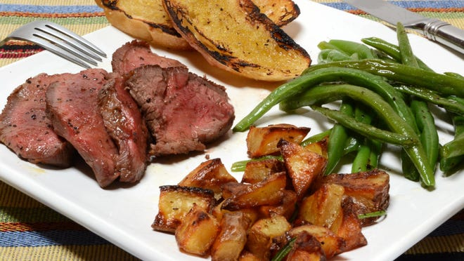 London broil on a plate