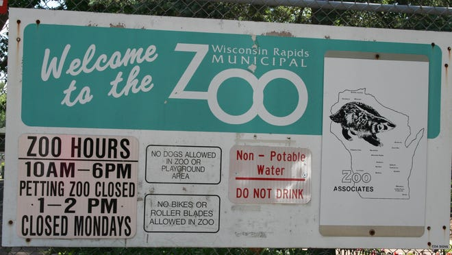 The Wisconsin Rapids Municipal Zoo will close at 6 p.m. Aug. 23 for the season.