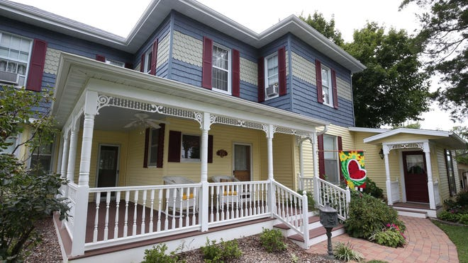 Melanie and Dennis Billman spent more than a year renovating their Marshfield home to transform it in to the Florence Inn Bed and Breakfast.