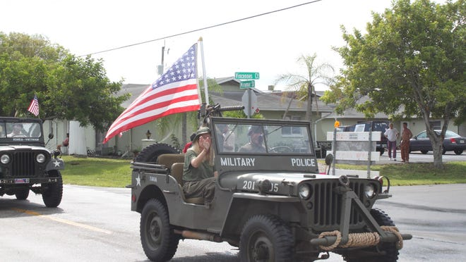 A scene from the 2015 Parade for Heroes.