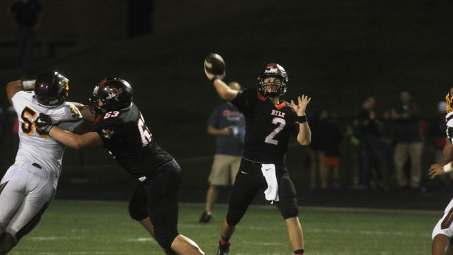 Tanner Morgan and his Ryle teammates are ranked No. 4 in Class 6A in the latest Kentucky AP poll.