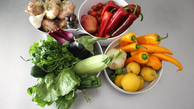 The farmers market is the best place to buy whole fruits and vegetables.