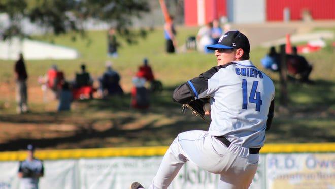 Ace pitcher Luke Honeycutt, a Louisiana Tech signee, leads the West Ouachita pitching staff with a 1.17 ERA.