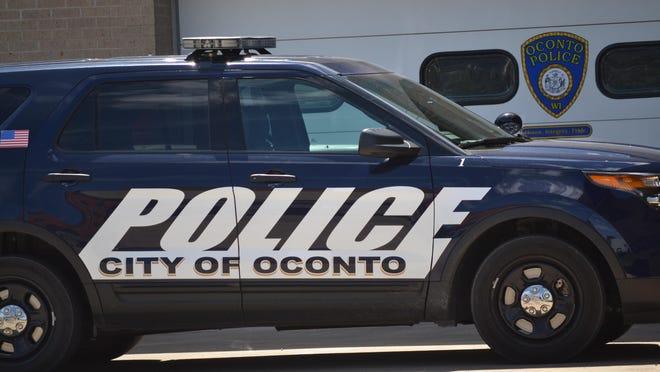 City of Oconto Police vehicle.