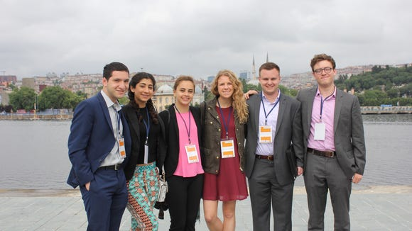 NLG GW at the World Humanitarian Conference in Istanbul, Turkey. Photo Courtesy: NLG GW