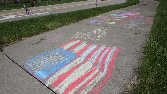 Sidewalk chalk will be among items in bags of summer activity freebies being distributed by Akron Children' Hospital and the City of Akron.