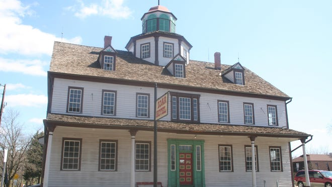 The old Zoar Hotel is one of several haunted sites seen on ghost tours in the historic village.