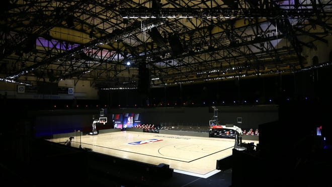 There was no basketball at The Field House in Lake Buena Vista, Fla., after NBA players made their strongest statement yet against racial injustice Wednesday by boycotting their playoff games.