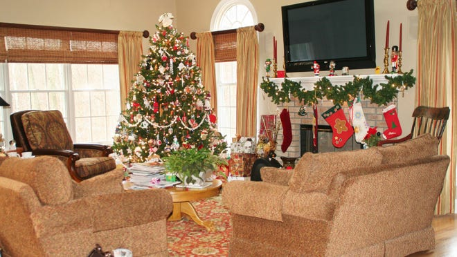 """Realtor Doug Barrington said staging a home for selling during the holidays can be simple. """"Staging your home during the winter can be as easy as decorating for the holidays when homes are festive and look the most inviting they do all year long,"""" Barrington said."""