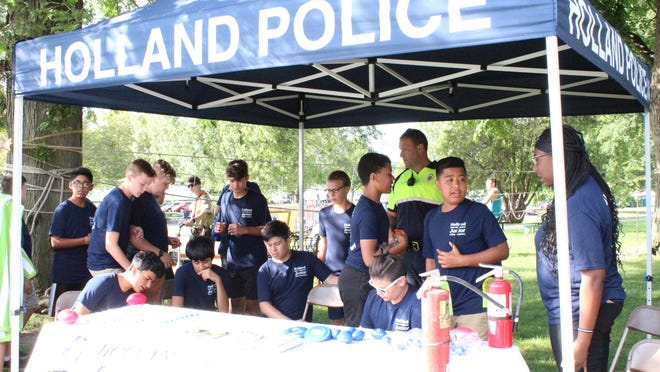 Holland's National Night Out event on Aug. 6 , 2019 at Kollen Park.