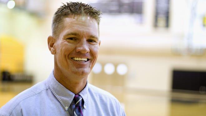 Matt Herting, varsity boys basketball coach at Bishop Verot High School SPECIAL TO THE NEWS-PRESS Matt Herting, varsity boys basketball coach at Bishop Verot High School