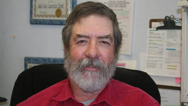 Ed Ryan is the new manager of the Mason Valley and Smith Valley conservation districts, having taken over in September.
