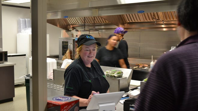 Donna Rosencranse opened Famous Shamus' Downtown Eatery in October.