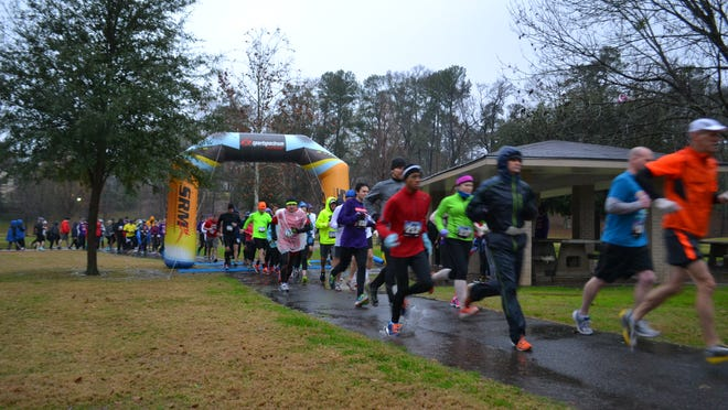 The Philadelphia Center, an organization supporting HIV/AIDS education in northwest Louisiana, hosted the 2nd annual Resolution Run starting at Betty Virginia Park in Shreveport Saturday, Jan. 3, 2015.