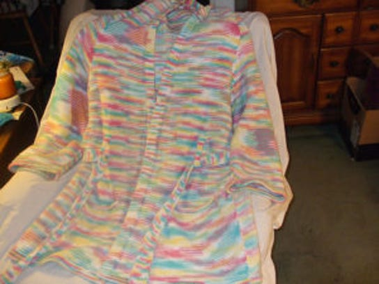 I also made this hooded bathrobe about 10 years ago.