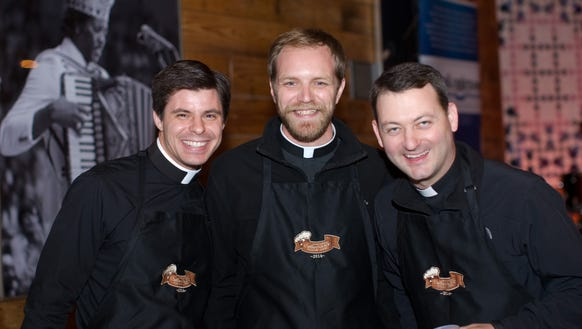 Lafayette priests will be competing in the annual Collarnary