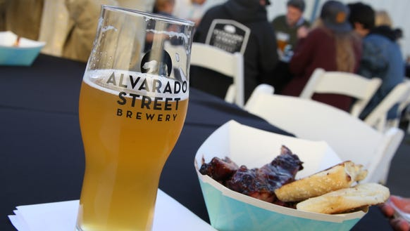 Alvarado Street Brewery and Grill opened a production
