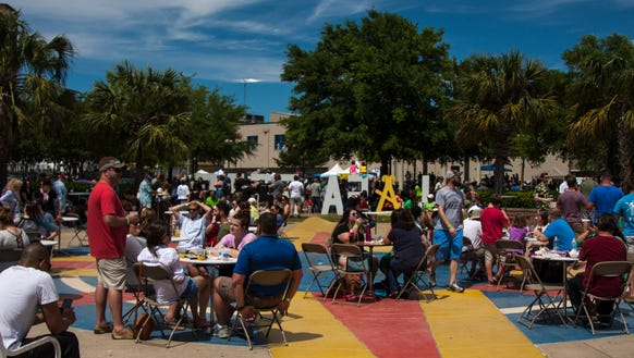 The 2018 Acadiana Po-Boy Festival will include more shade and dining areas than in previous years.