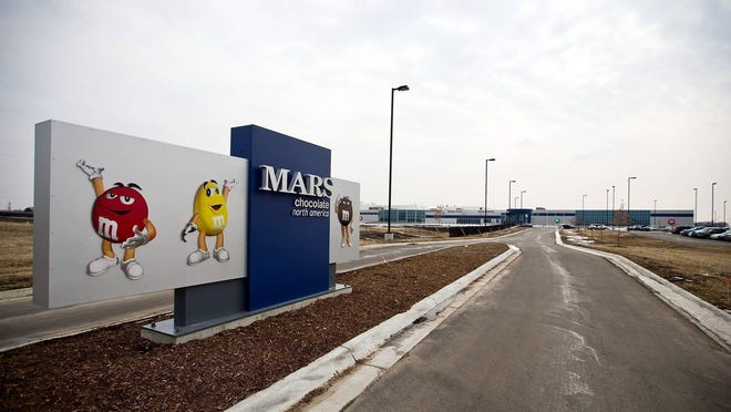 The Mars Chocolate plant in Topeka has about 20 employees out after a possible coronavirus exposure that originated outside of work.