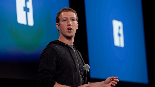 File photo taken in 2013 shows Mark Zuckerberg, Facebook's co-founder, CEO and chairman.