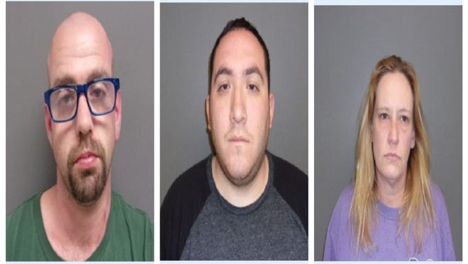 Trevor Anthony Marcilliotte, Bradley Wayne Horton and Rebecca Michelle Mcnelly were arrested in Runnels County in connection with an investigation of contraband making its way into the county jail, according to officials.