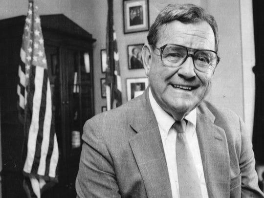 Former U.S. Rep. Tom Luken