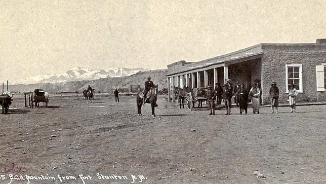 Fort Stanton in the early years.