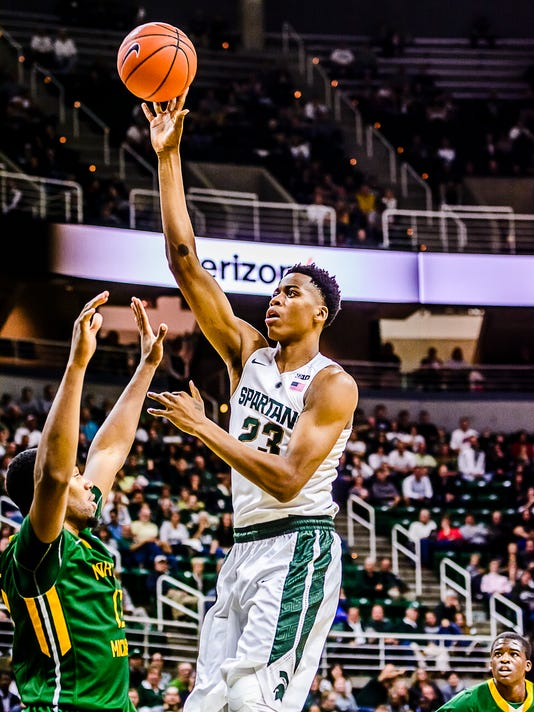 MSU vs Northern Michigan Basketball