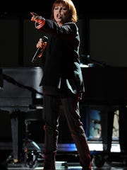 Pat Benatar performs live in concert at the Cruzan