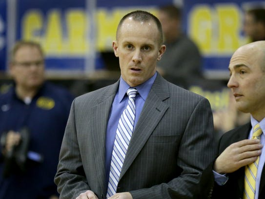 Ryan Osborn takes over as Carmel's new boys basketball