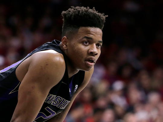 Markelle Fultz dominated in his lone college season with a struggling Washington team. His next competitive basketball game likely will be played with the Philadelphia 76ers,  expected to take him first overall in Thursday's NBA draft.