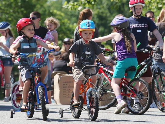 Hit the obstacle course and learn bike safety at the