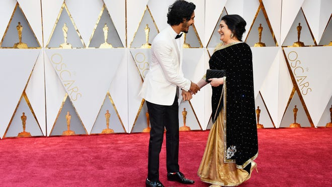 'Lion' star Dev Patel and mother Anita Patel