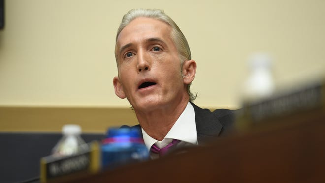 Rep. Trey Gowdy, R-S.C., a former federal prosecutor, says he wants to leave politics and return to the justice system.