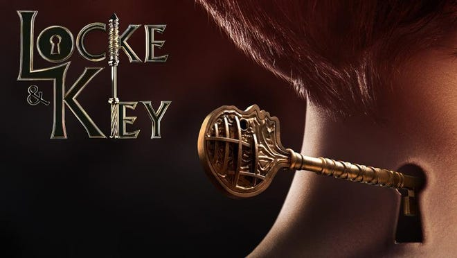 """Precocious kids, a haunted house and a comic book plot, the new Netflix series """"Locke & Key"""" has it all."""