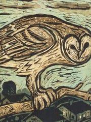 Kent Ambler of Greenville, S.C., will exhibit his prints at Ann Arbor's South University Art Fair