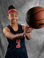 All-Midstate Sydni Harvey, Brentwood Academy Basketball