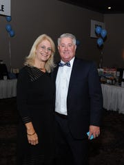 Canton Township Supervisor Pat Williams and his wife, Nancy Williams, were among more than 500 people who attended the auction.