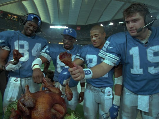 Victory never tasted better for the Detroit Lions on