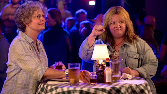 """Susan Sarandon stars as Pearl and Melissa McCarthy as the title role in a scene from """"Tammy."""""""