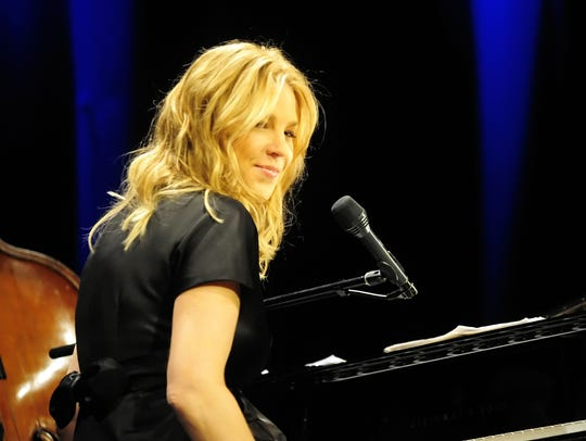 Diana Krall, shown here at her 2009 Burlington Discover