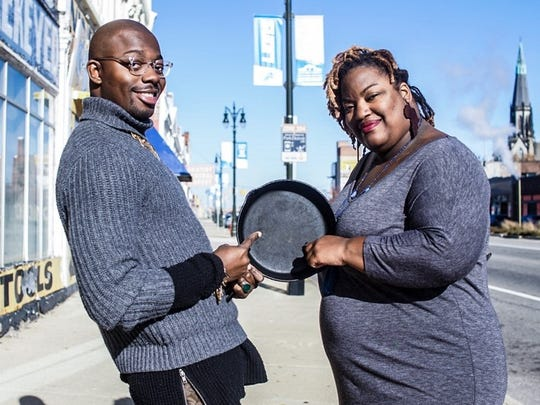 : etro Detroit Black Restaurant Week organizers Kwaku Osei-Bonsu and Lauren Bates are back with another event pitting mothers cooking against mothers.