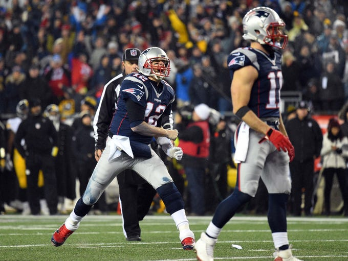 1. Patriots: It's hard to recall another defending